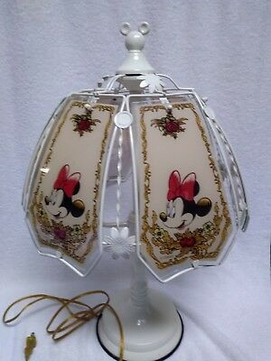 disney Minnie and Mickey mouse touch lamp
