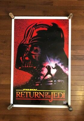 Return of the Jedi 10th Anniversary One Sheet Rolled Movie Poster Star Wars 1993