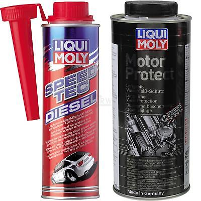 Original LIQUI MOLY  Set Speed Tec Diesel und MotorProtect
