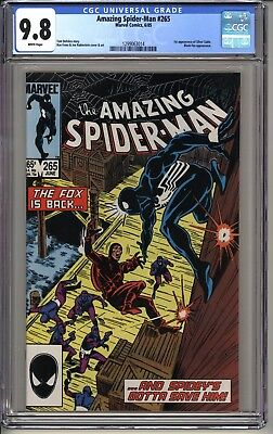 Amazing Spider-Man #265  CGC 9.8 WP  Marvel Comics 6/85  1st app. Silver Sable