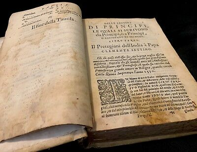1581 Letters Of Principles