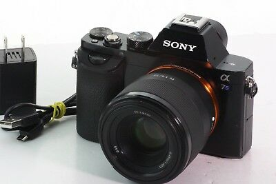 Sony Alpha a7S 12.2MP Digital Camera + Sony 50mm FE 1.8  lens -Black