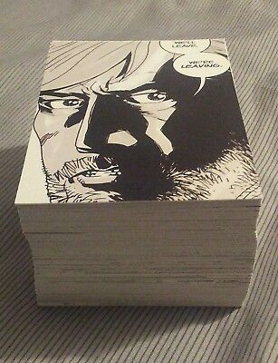 The walking dead comic book cards series 1 (set of 90) see description
