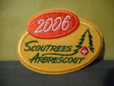 2006 Scout Trees,Boy Scouts of Canada Patch
