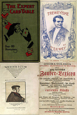 30 Most Scarce, Rare & Old Books On Magic, Conjuring, Witchcraft & Occult On Dvd