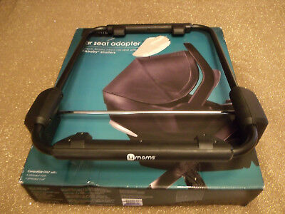 4moms Infant Car Seat Adapter for Uppababy Stroller Vista or Cruz New,(open box)