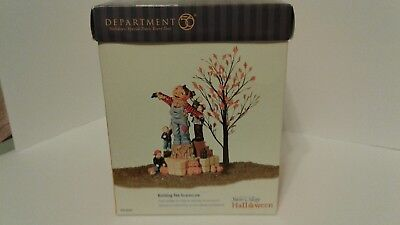 Department 56 Snow Village Halloween Building The Scarecrow Pre-Owned