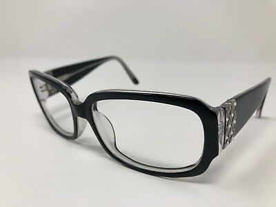 PARTS ONLY Sol by Daisy Fuentes 102P 021 Sunglass Frames Shiny Black 58/16  CK10