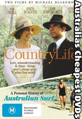 Country Life DVD NEW, FREE POSTAGE WITHIN AUSTRALIA REGION ALL