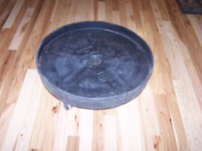 RUBBERMAID 2650 Universal Drum Dolly - Holds 55 & 30 Gallon Barrel 500 lb Limit
