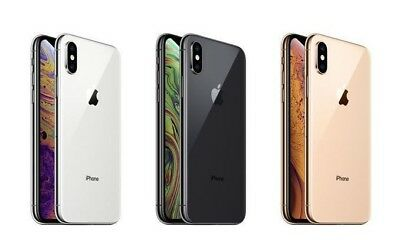 NEW Apple iPhone Ten XS MAX [64GB, 256GB, 512GB] Gold, Grey, Silver AU STK