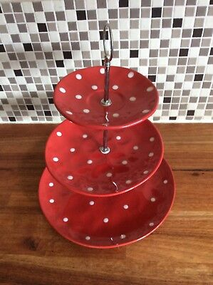 Maxwell Williams Sprinkle 3 Tier Cake Stand
