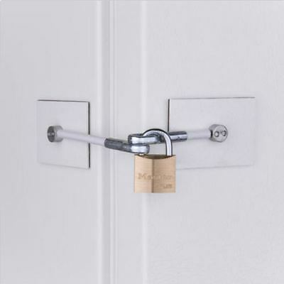 White Fridge Lock - Marinelock Refrigerator Lock - **NO PADLOCK**