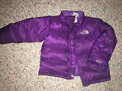 THE NORTH FACE 550 Goose Down Jacket Coat Girls Size 18/24 Months