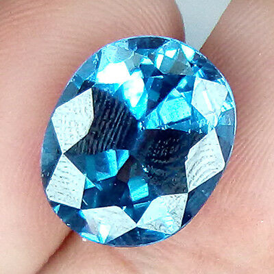 11.56 Cts Top Quality Eye Clean Santa Maria Blue Natural Aquamarine
