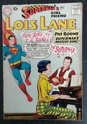 Superman's Girlfriend Lois Lane #9 DC Comics Silver Age! VG- 3.5 20% OFF!