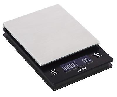 Hario V60 Drip metal Scale and Timer VSTM-2000HSV Japan