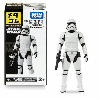 Star Wars First Order Stormtrooper #09 Collection Metal Figure Takara Tomy