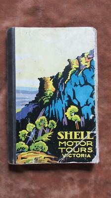 1930 December Shell Motor Tours Victoria 16 Pull-Out Maps Shooting Golfing Campi