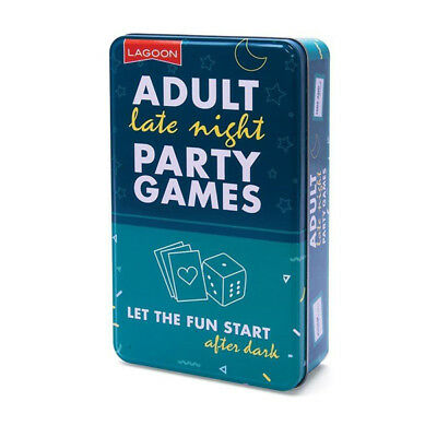 Adult Late Night Party Games - After Dinner Birthday Christmas Game for Parties