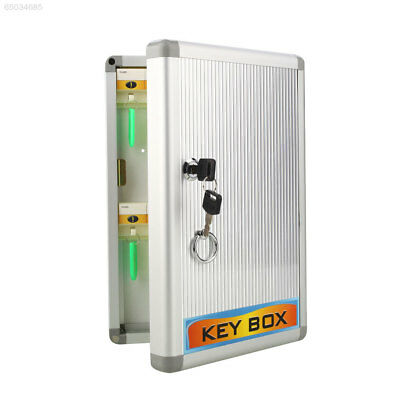 72C1 Secure Lock Security Locking 24 Hook Key Storage Cabinet Safe Box Case with