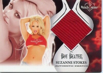 Benchwarmer 2012 - Suzanne Stokes Boy Beater Swatch Card