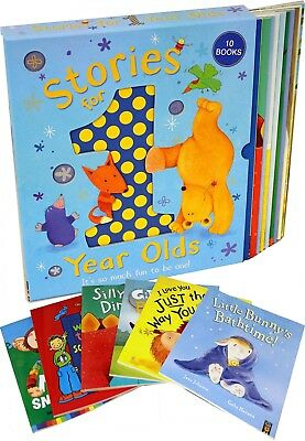Little Tiger Stories For 1 Year Olds 10 Books Collection Set Children Gift Pack