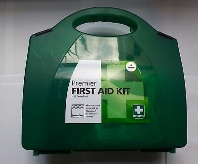 Steroplast Premier HSE 10 Person First Aid Kit Workplace Home HER Approved New