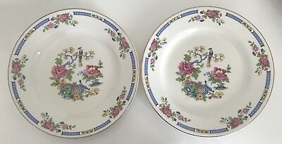 Lord Nelson Ware Tsing 2 Dinner Plates