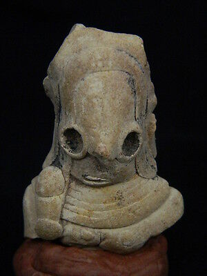 Ancient Teracotta Mother Goddess Torso Indus Valley 2000 BC NO RESERVE #TR15201