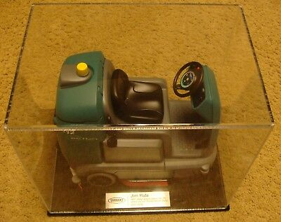 Salesman Sample 3-D Printer ? Tennant T12 Cylindrical Floor Scrubber with ec-H2O