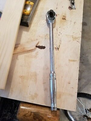 """Snap On 1/2"""" Tooth Long Handle Ratchet model # SL715"""