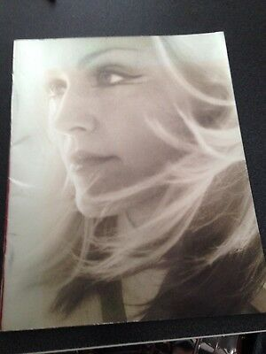 Madonna Drowned World Tour 2001 Program Book Good Condition Few Marks/scuffs