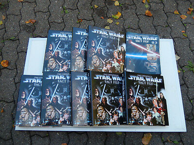 Star Wars Fact File 7 volle Ordner und Extrahefte