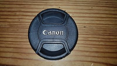 58mm Front Centre Pinch Lens Cap For Canon made by Sonia.