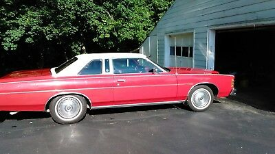 1977 Ford LTD  1977 FORD LTD LANDAU TOP ALWAYS GARAGE KEPT 59,968 ORIGINAL MILES RED ON RED