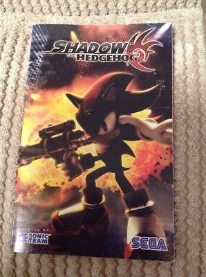 PS2 Shadow the Hedgehog Instruction Manual only