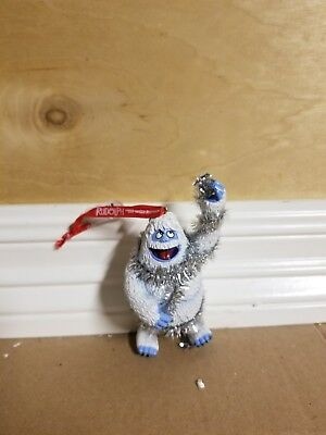abominable snowman Christmas ornament from the Rudolph collection