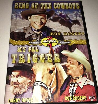 Roy Rogers King Of The Cowboys/My Pal Trigger Double DVD 8K