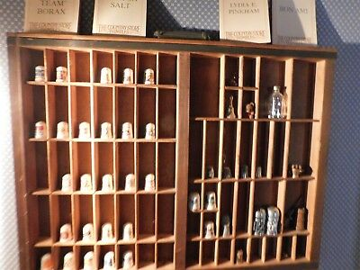 Thimble Collection--Some Very Rare--