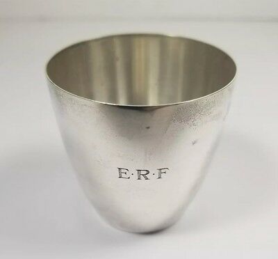 Vintage Tiffany & Co. Sterling Silver Travel Cup Jigger Cocktail 925