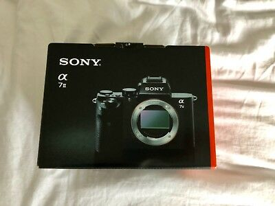 Brand New Sony Alpha a7 II 24.3MP Digital Mirrorless Camera - Black (Body Only)