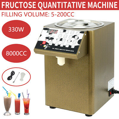 Bubble Tea Equipment Fructose Quantitative Machine Fructose Dispenser 110V US