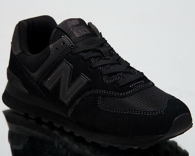 new product e94c7 9dc85 NEW BALANCE 574 New Men Lifestyle Shoes Black Low Top 2018 Sneakers  ML574-ETE