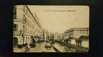 CPA Alger Boulevard Bugeaud