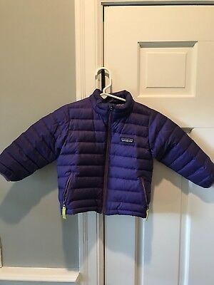 Patagonia Purple Sweater Coat 2t Jacket