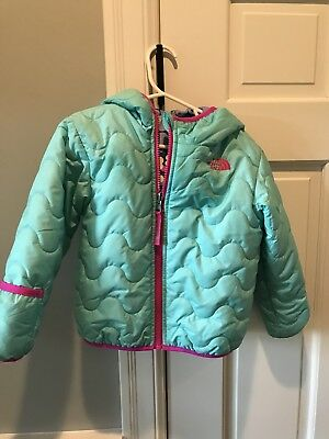 Girls North face Reversible Jacket 18-24 Months