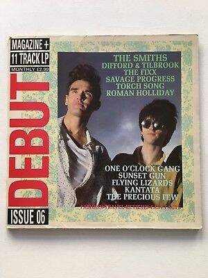 Debut Magazine Inc LP Issue 06 Features THE SMITHS : 1984 N/M VINYL A1/B1 UK 1st