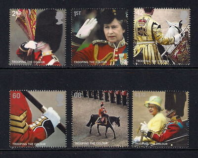 Gb 2005 Trooping The Color Mnh Set Of 6 Stamps
