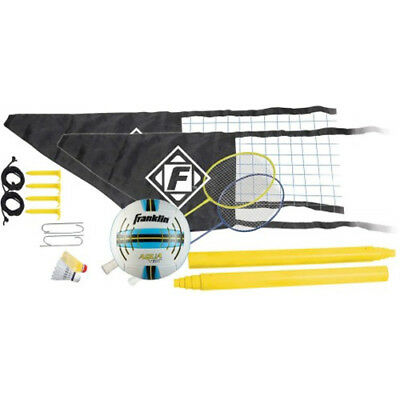 Franklin Quik-Set Tension System Beach Volleyball & Badminton Combo OG50702
